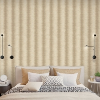 Zebra Stripe Organic Textures Wallpaper Room Setting