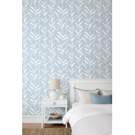 Eco Leaves Paper & Ink Wallpaper Room Setting
