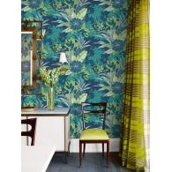 Tropical Foliage Maya Wallpaper Room Setting