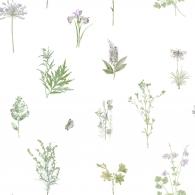 Botanical Evergreen Wallpaper