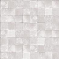 Grey Tile Evergreen Wallpaper