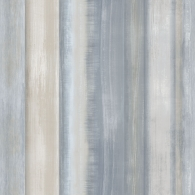 Waterfall Stripe Evergreen Wallpaper
