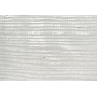White & Silver Sisal Paper & Ink Wallpaper