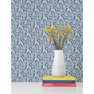 Plumage Small Prints Resource Library Wallpaper Room Setting