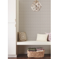 Zellige Tile Small Prints Resource Library Wallpaper Room Setting