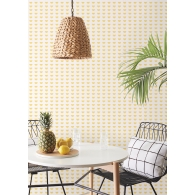 Citrus Party Small Prints Resource Library Wallpaper Room Setting