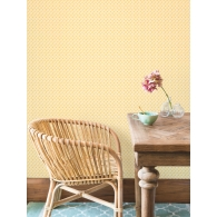 Wicker Weave Small Prints Resource Library Wallpaper Room Setting