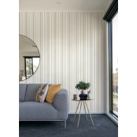 Wide Pinstripe Stripes Resource Library Wallpaper Room Setting