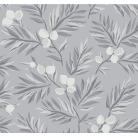 Plums and Leaves Paper & Ink Wallpaper (NGW)