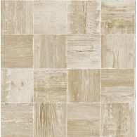 Washed Wooden Tiles Maya Wallpaper