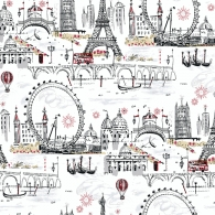 Novelty Euro Scenic A Perfect World Wallpaper