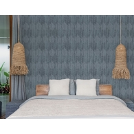 Wasabi Leaves Bazaar Wallpaper Room Setting