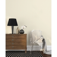 Little Lines Stripe Metallic FX Wallpaper Room Setting