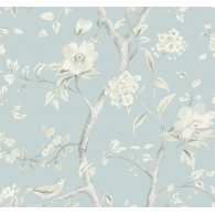 Southport Floral Trail Lillian August Luxe Retreat Wallpaper