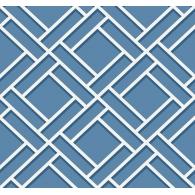 Block Trellis Lillian August Luxe Retreat Wallpaper
