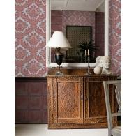 Charleston Damask Wallpaper Room Setting