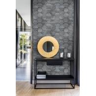 Jabari Imprint Wallpaper Room Setting