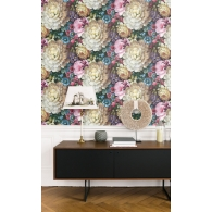 Florabunda Charleston Wallpaper Room Setting