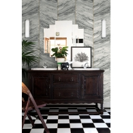 Marble Panel Charleston Wallpaper Room Setting