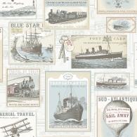 Travel Nostalgie Wallpaper