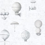 Air Ships Nostalgie Wallpaper
