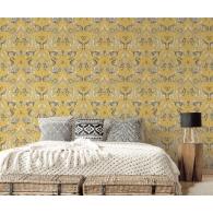 Menagerie Bazaar Wallpaper Room Setting