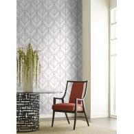Diamond Shadow Geometric Resource Library Wallpaper Room Setting