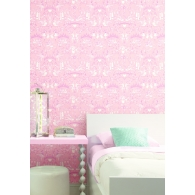 Ballet Toile A Perfect World Wallpaper Room Setting