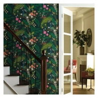 Peacock Rifle Paper Co. Wallpaper Room Setting