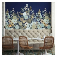 Garden Party Rifle Paper Co. Mural Room Setting