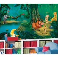 Lion King Prepasted XL Sized Wallpaper Mural