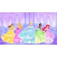 Disney Kids Perfect Princess Prepasted XL Sized Wallpaper Mural