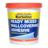 Bartoline 1.0kg Ready Mixed Wallcovering Adhesive