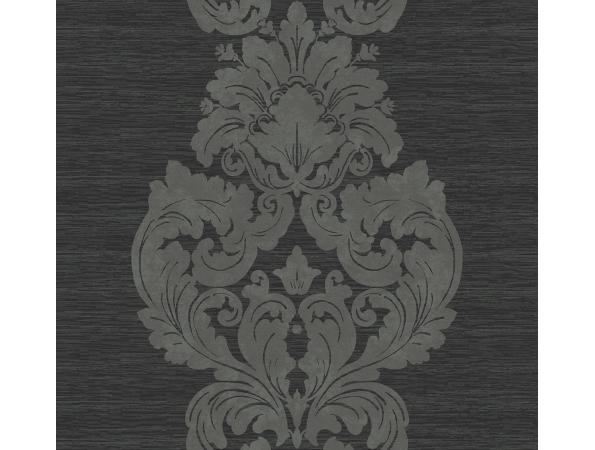 Damask Stripe Wallpaper