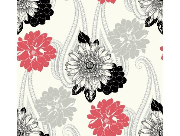 Floral Paisley Wallpaper