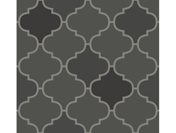 Tile Trellis Wallpaper