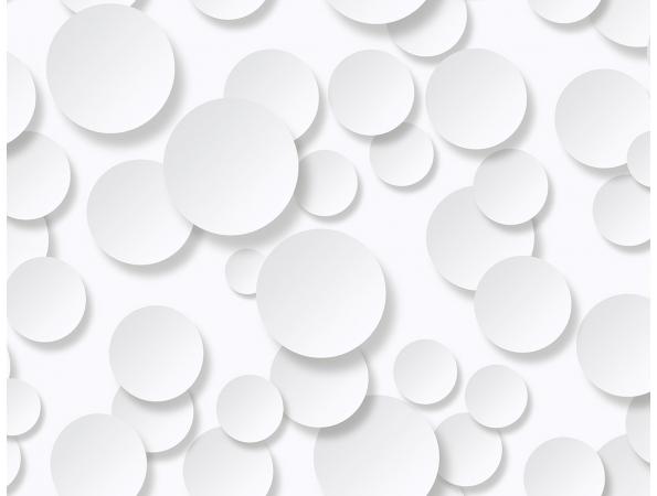 Circles 3D Wallpaper