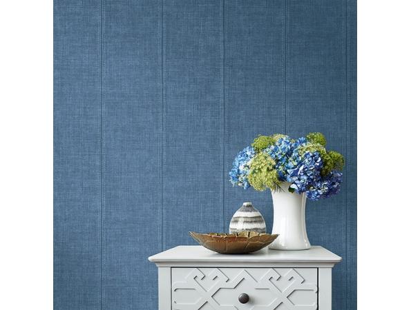 Denim Daisy Bennett Wallpaper Room Setting
