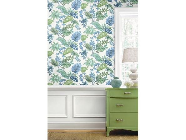 Bali Daisy Bennett Wallpaper Room Setting