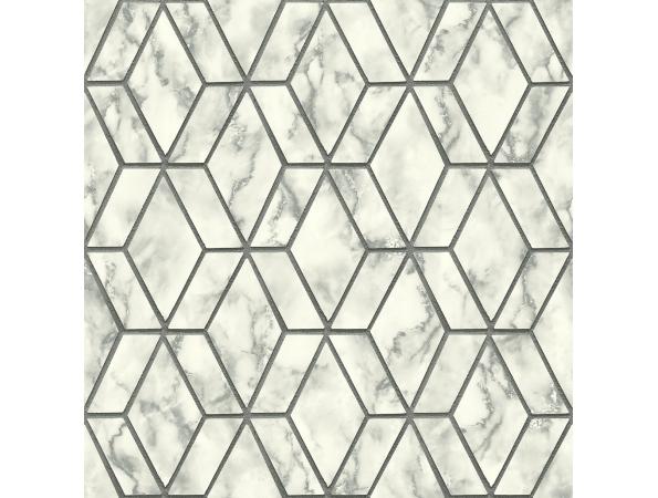 Marble Tile  Brownstone Wallpaper