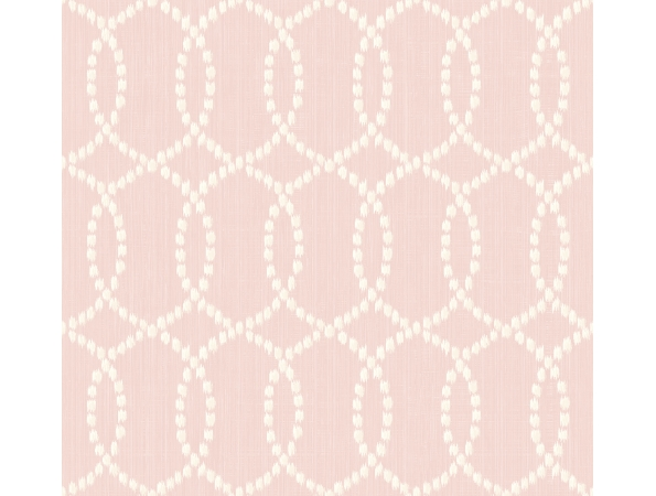 Ikat Lattice Fusion Wallpaper