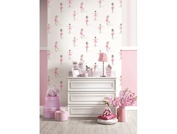 Ballerinas Playdate Adventure Wallpaper Room Setting
