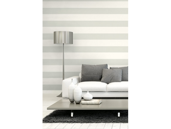 Extra Wide Stripe Selections Wallpaper Room Setting