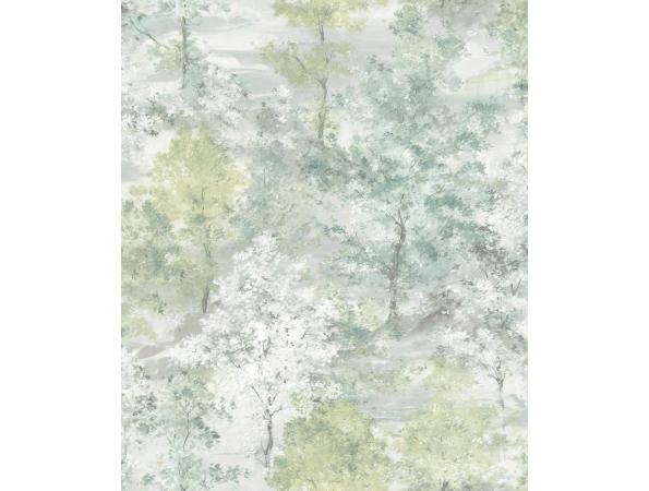 Woodland Trees Global Fusion Wallpaper