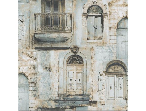 Ancient Doors & Windows Global Fusion Wallpaper