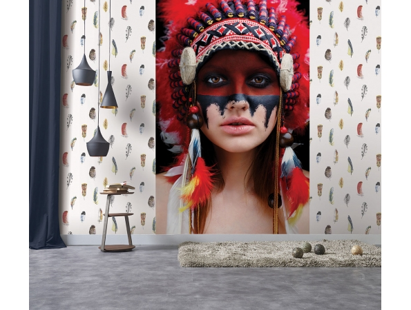 Native American Global Fusion Mural