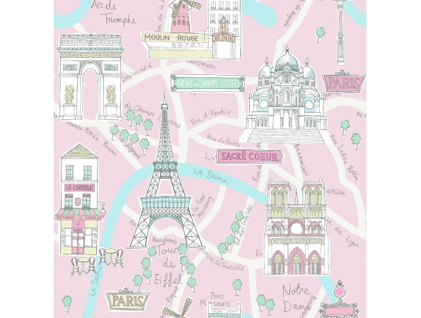 Bon Voyage! Paris Playdate Adventure Wallpaper