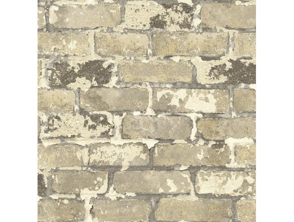 Brick Modern Foundation Wallpaper