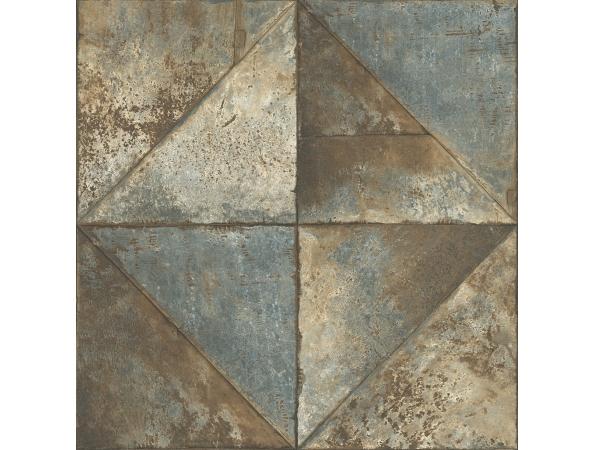 Metallic Diamonds Modern Foundation Wallpaper