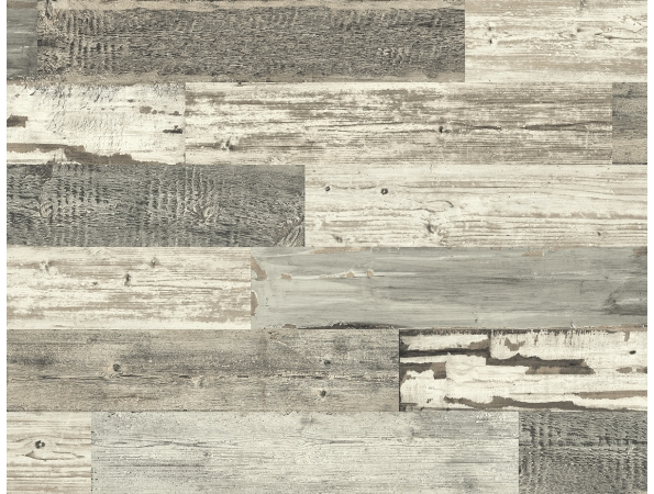 Distressed Wood Tile Modern Foundation Wallpaper